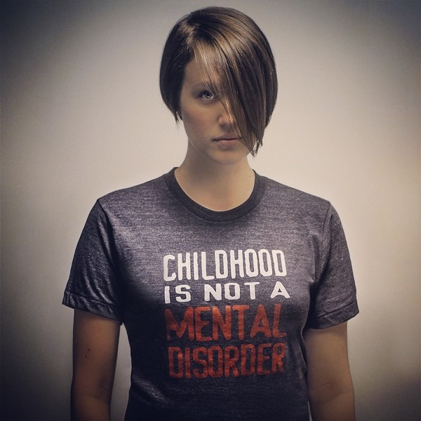 Childhood Is Not A Mental Disorder T-shirt