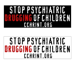 Stop Psychiatric Drugging of Kids Bumper Stickers